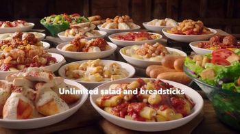Olive Garden Never Ending Stuffed Pastas TV Spot, 'Never Ending-er' - Thumbnail 9