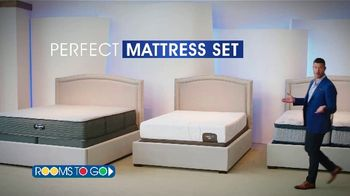 Rooms to Go Anniversary Sale TV Spot, 'Perfect Mattress Set' Featuring Jesse Palmer - Thumbnail 2