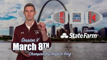 Missouri Valley Conference TV Spot, '2020 Arch Madness: Commemorative Ring' - Thumbnail 8