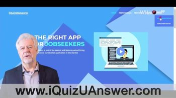 iQuizUAnswer TV Spot, 'Video Interview Portal' - Thumbnail 1