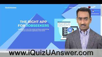 iQuizUAnswer TV Spot, 'Video Interview Portal' - Thumbnail 4