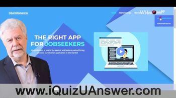 iQuizUAnswer TV Spot, 'Video Interview Portal'