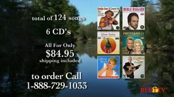 Midwest Country Music Theater TV Spot, 'Merle Haggard, George Morgan and Tammy Wynette' - 22 commercial airings