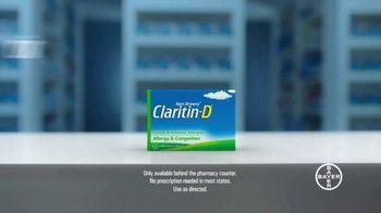 Claritin-D TV Spot, 'Airflow' - Thumbnail 10