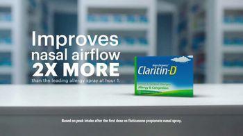 Claritin-D TV Spot, 'Airflow' - Thumbnail 7