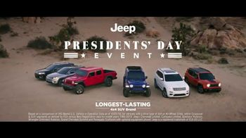 Jeep Presidents Day Event TV Spot, 'Oath of Adventure' [T2] - Thumbnail 2
