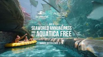 SeaWorld San Antonio TV Spot, 'Texas Stingray & Tonga Twister: Annual Pass' - Thumbnail 8