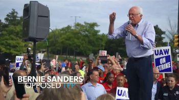 Bernie 2020 TV Spot, 'Union Auto Worker Sean Crawford' - Thumbnail 5