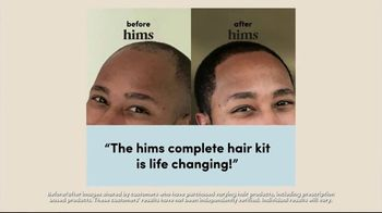 Hims Complete Hair Kit TV Spot, 'Party: Free Online Visit' - Thumbnail 2