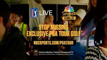 NBC Sports Gold PGA Tour Live TV Spot, 'Mundane Mornings: Bus' - Thumbnail 9