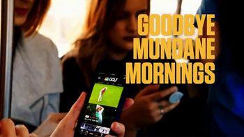NBC Sports Gold PGA Tour Live TV Spot, 'Mundane Mornings: Bus' - Thumbnail 8