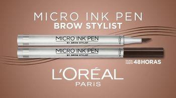 L'Oreal Paris Micro Ink Brow Pen TV Spot, 'Precisión sin compromiso' con Camila Cabello [Spanish] - Thumbnail 7