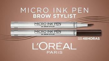 L'Oreal Paris Micro Ink Brow Pen TV Spot, 'Precisión sin compromiso' con Camila Cabello [Spanish] - Thumbnail 2