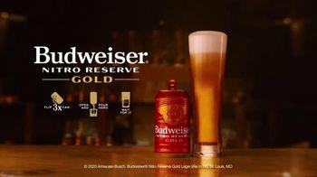 Budweiser Nitro Reserve Gold TV Spot, 'Smooth' - Thumbnail 8
