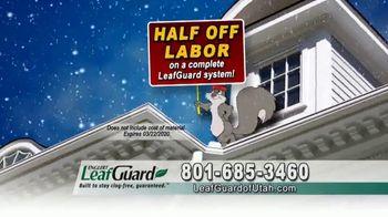 LeafGuard of Utah Winter Half Off Sale TV Spot, 'Big Mouth' - Thumbnail 4