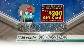 LeafGuard of Utah Winter Half Off Sale TV Spot, 'Magic on the Inside' - Thumbnail 7