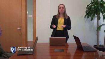 University of New Hampshire TV Spot, 'Dedicated: Impact' - Thumbnail 4