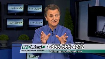 LeafGuard of Pittsburgh Winter Half Off Sale TV Spot, 'Don't Worry: Gift Cards'