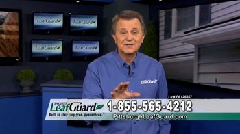 LeafGuard of Pittsburgh Winter Half Off Sale TV Spot, 'Clogged Gutters: Gift Cards' - Thumbnail 8