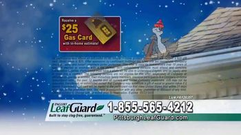 LeafGuard of Pittsburgh Winter Half Off Sale TV Spot, 'Clogged Gutters: Gift Cards' - Thumbnail 9