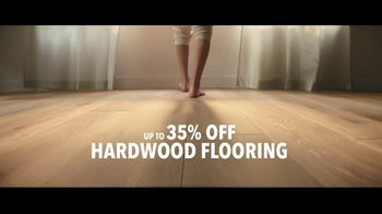 Lumber Liquidators TV Spot, 'Black Friday in Spring: 35 Percent Off Waterproof Vinyl' Song by Electric Banana - Thumbnail 4