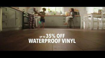 Lumber Liquidators TV Spot, 'Black Friday in Spring: 35 Percent Off Waterproof Vinyl' Song by Electric Banana - Thumbnail 6