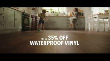 Lumber Liquidators TV Spot, 'Black Friday in Spring: 35 Percent Off Waterproof Vinyl' Song by Electric Banana - Thumbnail 7