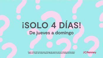 JCPenney Venta Sorpresa TV Spot, 'Solo cuatro días' [Spanish] - Thumbnail 8