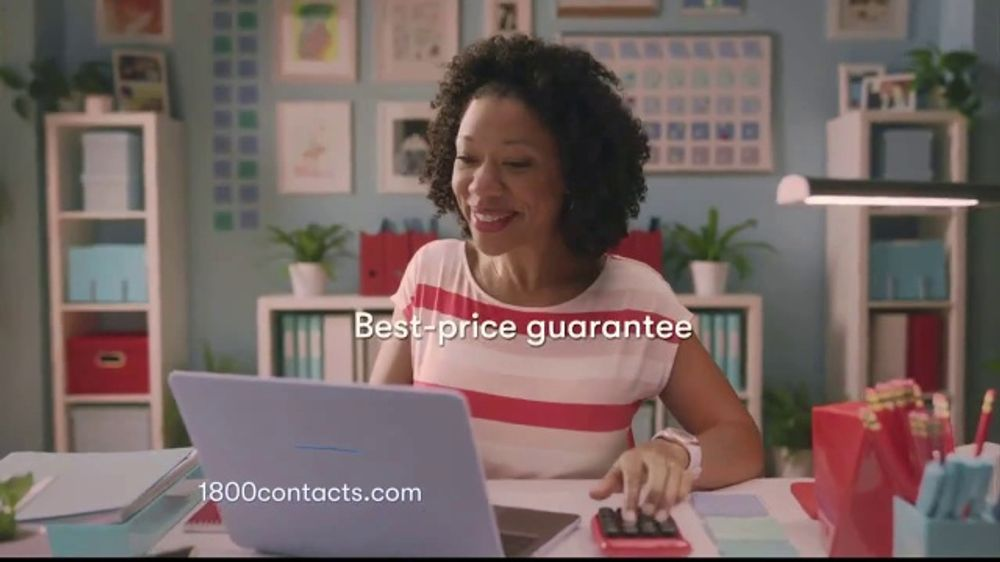 1-800 Contacts TV Commercial, 'We See You, Shauna: 20 Percent'