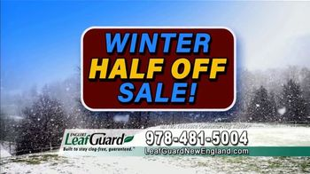 LeafGuard of New England Winter Half Off Sale TV Spot, 'Thousands of Homeowners: Gift Cards' - Thumbnail 5