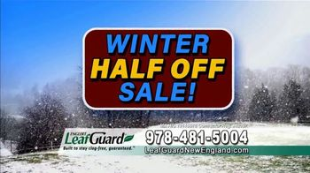 LeafGuard of New England Winter Half Off Sale TV Spot, 'Big Mouth: Gift Cards & Referral' - Thumbnail 4
