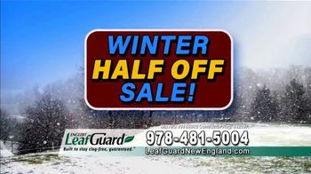 LeafGuard of New England Winter Half Off Sale TV Spot, 'Sagging Gutters: Gift Cards' - Thumbnail 5