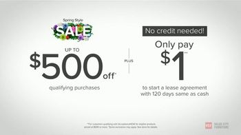Value City Furniture Spring Style Sale TV Spot, 'Why Wait on Your Tax Refund?' - Thumbnail 3