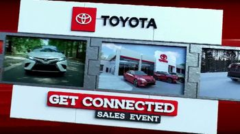 Toyota Get Connected Sales Event TV Spot, 'Connect With Style' [T2] - Thumbnail 8