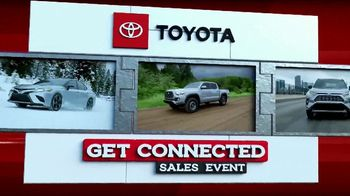 Toyota Get Connected Sales Event TV Spot, 'Connect With Style' [T2] - Thumbnail 1