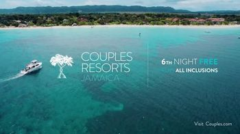 Couples Resorts Jamaica TV Spot, 'Resorts, Beaches & Suites' Song by Rob Base, DJ E-Z Rock - Thumbnail 9
