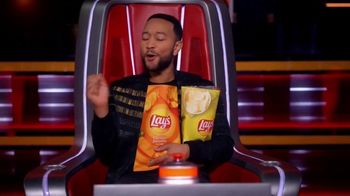 Lay's Cheddar Jalapeño TV Spot, 'NBC: Blind Audition' Featuring John Legend - 1 commercial airings