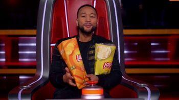 Lay's Cheddar Jalapeño TV Spot, 'NBC: Blind Audition' Featuring John Legend - Thumbnail 6