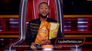 Lay's Cheddar Jalapeño TV Spot, 'NBC: Blind Audition' Featuring John Legend - Thumbnail 7