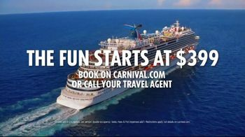 Carnival TV Spot, 'Try Anything Twice: $399' - Thumbnail 10