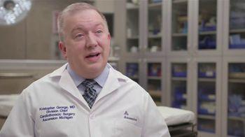 Ascension Health TV Spot, 'Medical Minute: Coronary Bypass Surgery' - Thumbnail 4