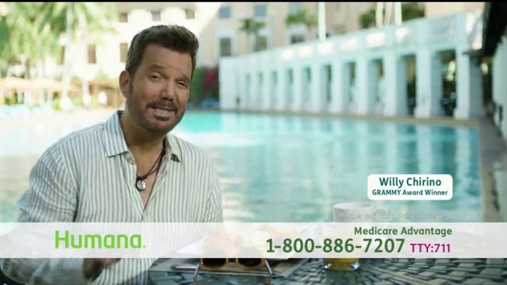 Humana TV Commercial, 'Living Life' Featuring Willy Chirino
