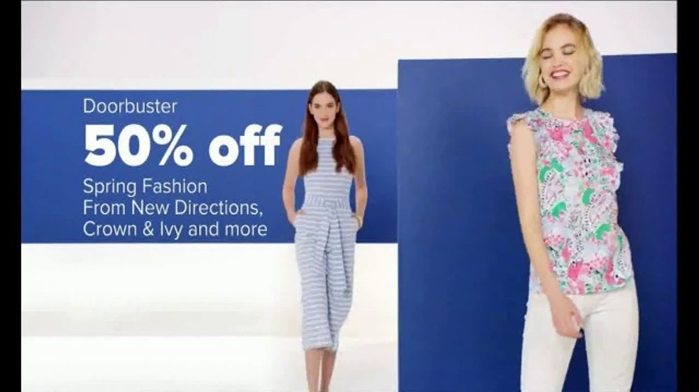 Belk Spring Fashion Sale TV Commercial, 'Spring Fashion, Designer Sandals and Lancome'