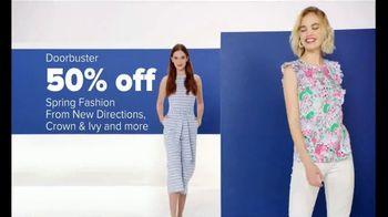 Belk Spring Fashion Sale TV Spot, 'Spring Fashion, Designer Sandals and Lancome'