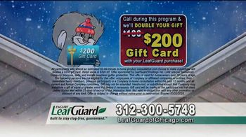 LeafGuard of Chicago Winter Half Off Sale TV Spot, 'Big Mouth: Gift Cards' - Thumbnail 9