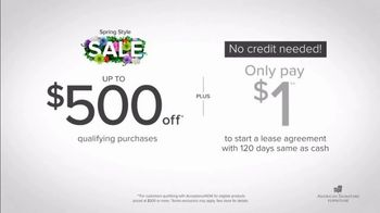American Signature Furniture Spring Style Sale TV Spot, 'Doorbusters' - Thumbnail 4