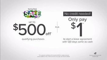 American Signature Furniture Spring Style Sale TV Spot, 'Doorbusters' - Thumbnail 5