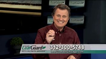 LeafGuard of Chicago Winter Half Off Sale TV Spot, 'Old Open-Top Gutters: Gift Cards' - 27 commercial airings