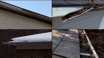 LeafGuard of Chicago Winter Half Off Sale TV Spot, 'Old Open-Top Gutters: Gift Cards' - Thumbnail 1