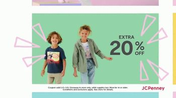 JCPenney Mystery Sale TV Spot, 'Peel and Reveal: 40 Percent'